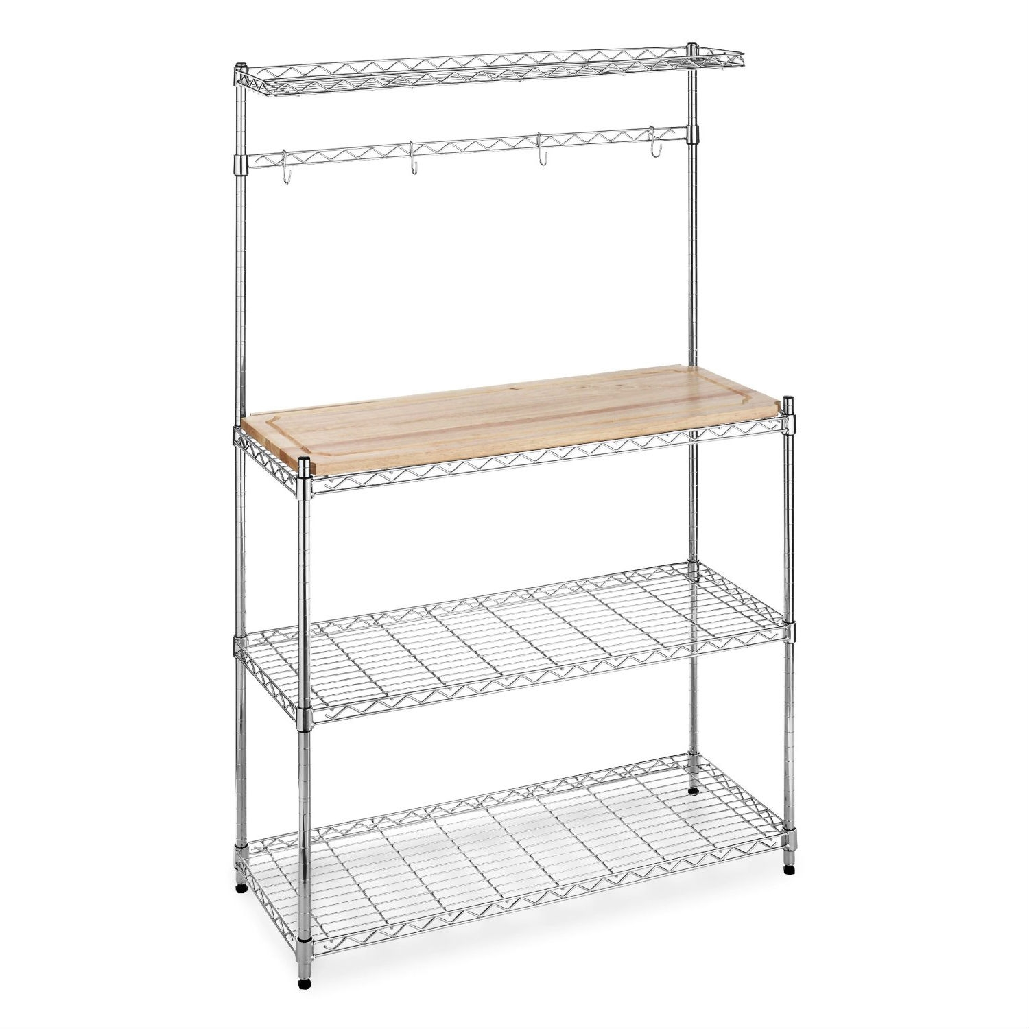 Hanging Bakers Rack Kitchen Creativeworks Home Decor Bakers Racks
