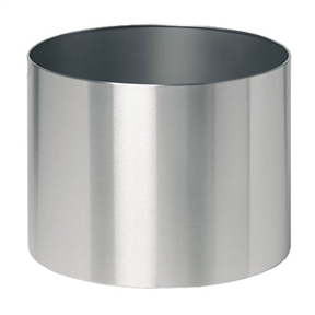 20-inch Diameter Round Stainless Steel Planter on Casters Wheels, BGRP21869 :  This 20-inch Diameter Round Stainless Steel Planter on Casters Wheels would be a great addition to your home. It has a round shape, made of stainless steel and has easy to move casters. Indoor Use: Yes Material: Stainless steel; Finish: Silver Shape: Round; Water Resistant: Yes Rot Resistant: Yes; Crack Proof: Yes Fade Resistant: Yes; Wall Design: Single Number of Feet: 3; Capacity: 60 kg Ounces Hardware Included: Yes; Recycled Content: 0% Country of Manufacture: Germany.