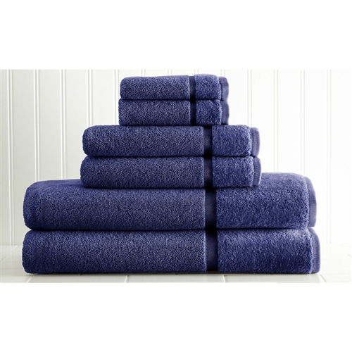 Blue 6-Piece Luxury Bath Towel Set in 2-Ply 100% Egyptian Cotton, LSPTB519815 :  This Blue 6-Piece Luxury Bath Towel Set in 2-Ply 100% Egyptian Cotton would be a great addition to your home. It includes 2 bath towels, 2 hand towels and 2 washcloths. Incredibly soft and absorbent hollow yarns get fluffier after every wash; 2-Ply construction provides extra softness; Hypoallergenic: Yes; Recommended Cleaning Method: Machine wash; Fabric Weight: 650 Grams per Square Meter (GSM) [Fabric Weight]; Country of Manufacture: India.