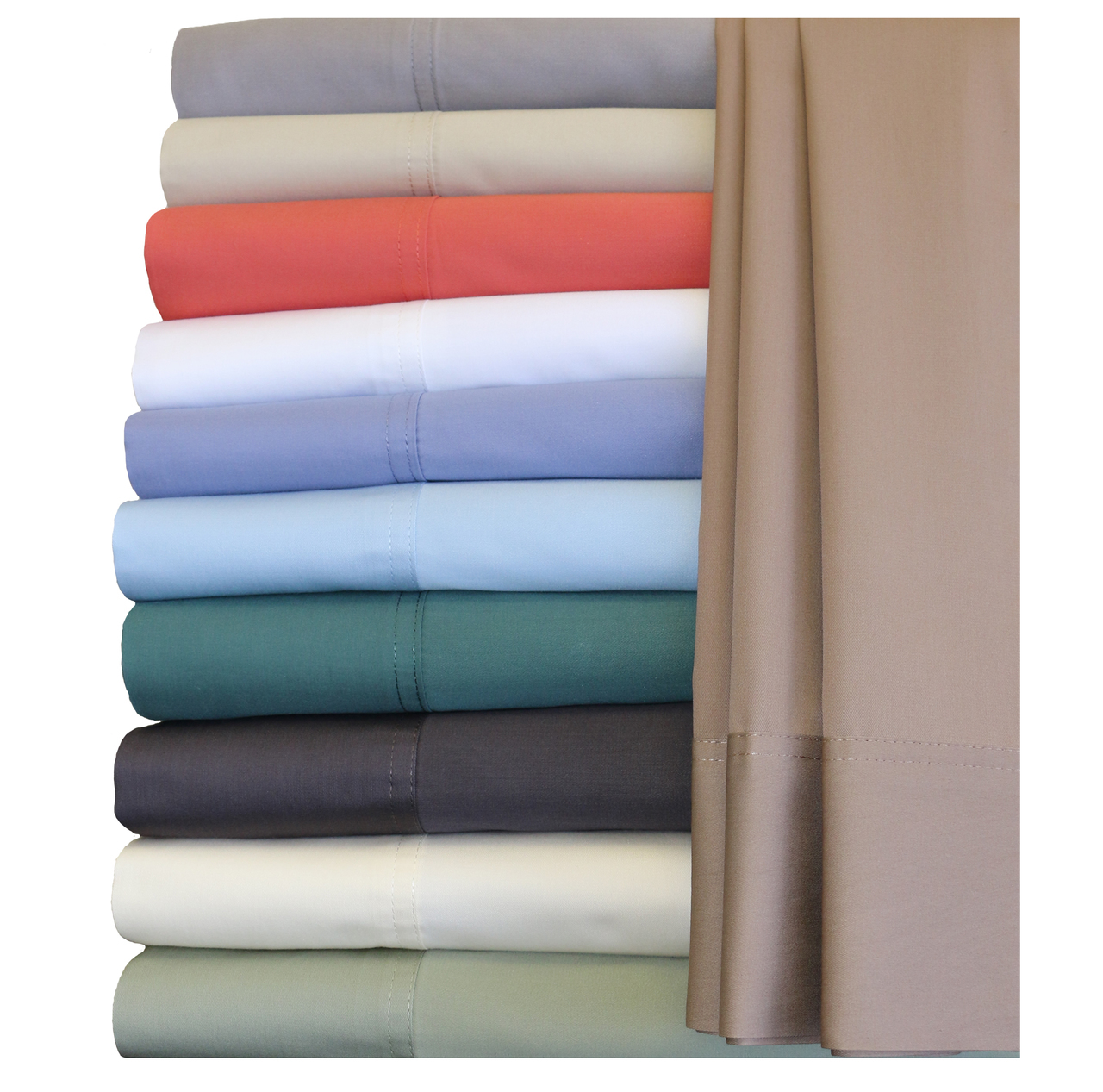 Royal Tradition. Hybrid Bamboo Collection Sheet Sets, Bamboo Cotton Blend.
