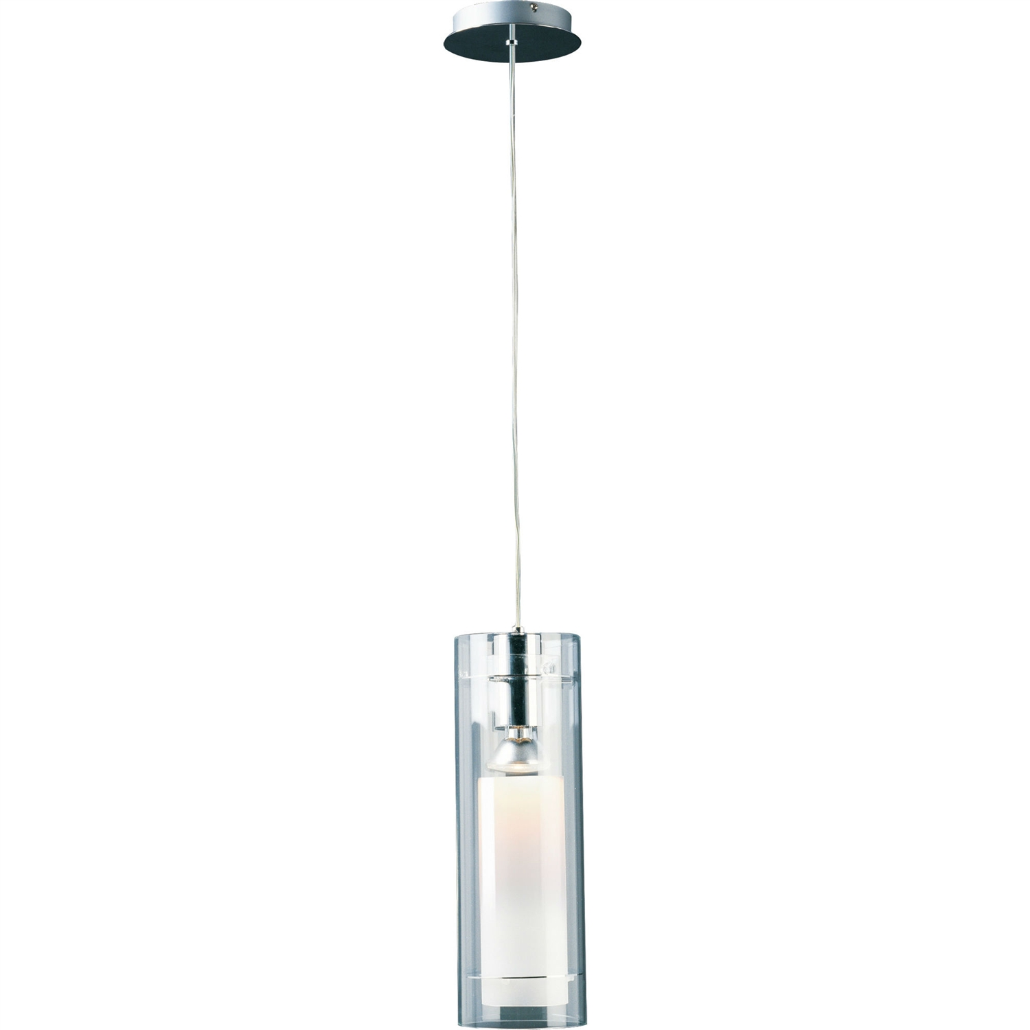 This Modern 1-Light Single Pendant Ceiling Light in Polished Chrome would be a great addition to your home. It has a polished chrome finish and no additional parts are required.