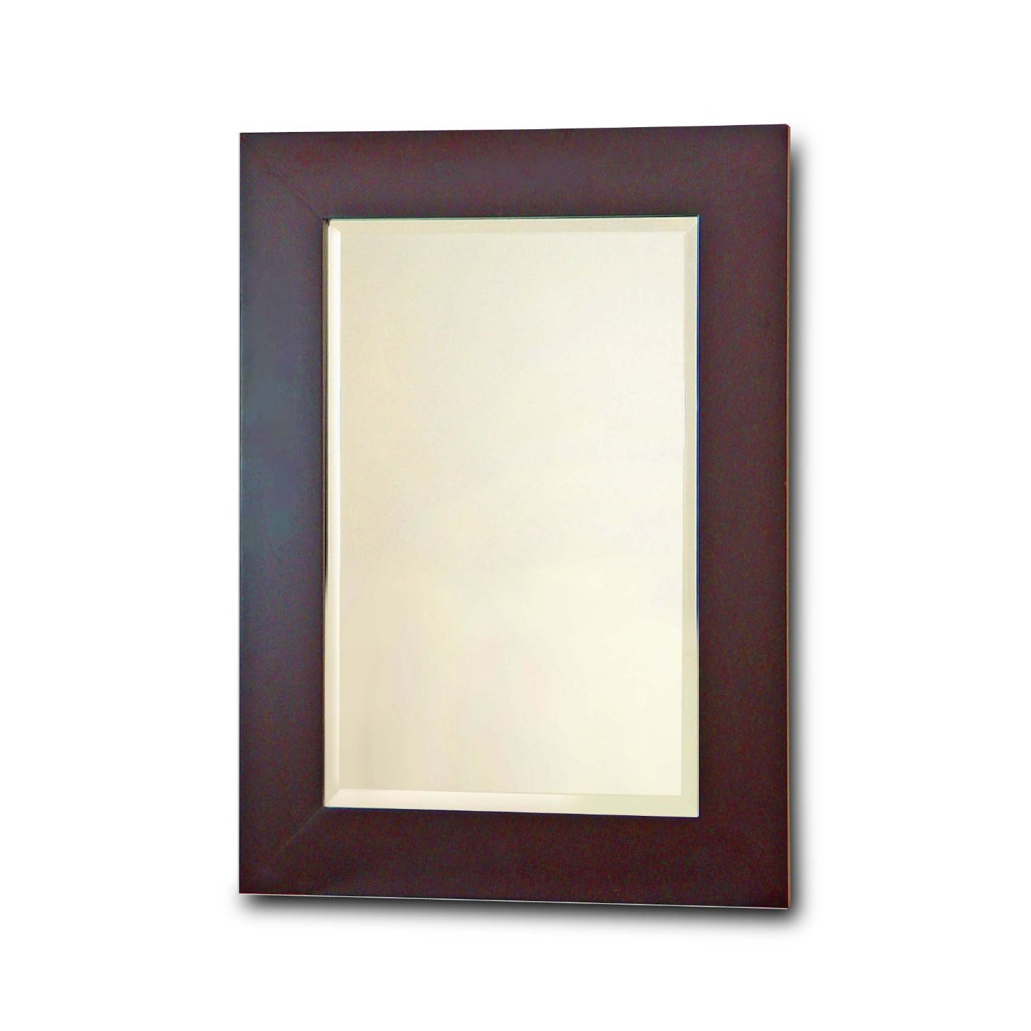 Bathroom Wall Mirror with Dark Espresso Finish Frame, EHF3701BEM : This Bathroom Wall Mirror with Dark Espresso Finish Frame would be a great addition to your home. Elegant Home Fashions Chatham Collection Framed Beveled-Edge Glass Mirror, Dark Espresso. For both practical use and the illusion of spaciousness; Perfect for in the bedroom or bathroom; Assembly required; Measures 2 by 19 by 26 inches.