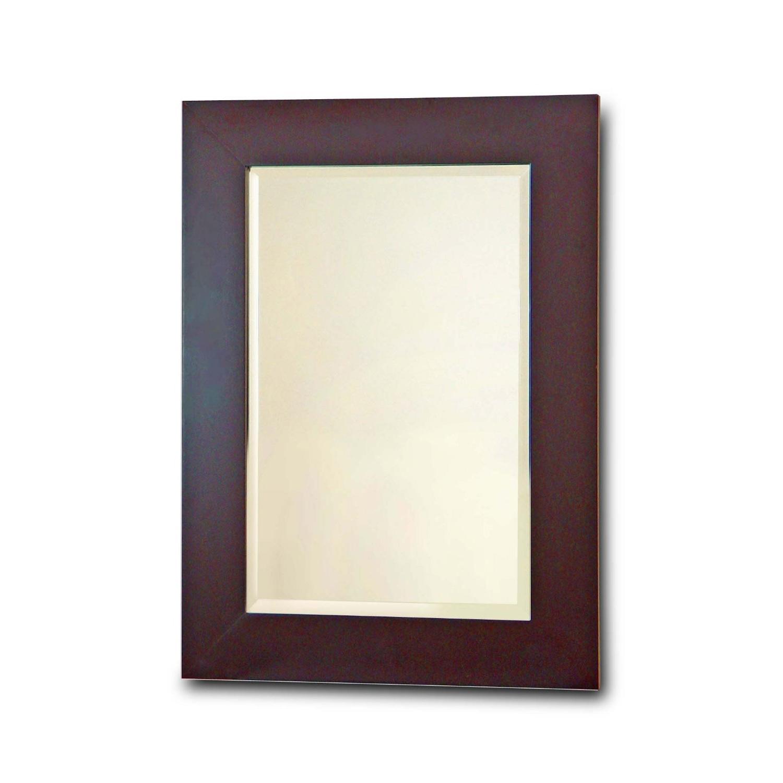 Bathroom Wall Mirror With Dark Espresso Finish Frame Ehf3701bem This Bathroom Wall Mirror With