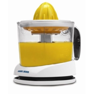 With this Black & Decker Citrus Orange/Lemon/Lime/Grapefruit Juicer you can enjoy fresh-squeezed citrus juice right when you want it. Get all the juice you need without the seeds from the self-reversing cone and strainer.