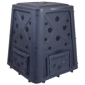 65 Gallon Heavy Duty Compost Bin - 8.7 Cu Ft. Composter, RCB5214 :  This 65 Gallon Heavy Duty Compost Bin - 8.7 Cu Ft. Composter would be a great addition to your home. It has a 65 gallon capacity and heavy duty construction. Convenient snap on lid; Four access doors to retrieve composted material; Made of UV stabilized material.