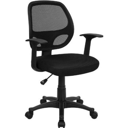 This Black Mesh Mid-Back Office Chair is very appealing and affordably priced. Breathable mesh back and padded seat provides comfort when sitting for long periods of time. Chair is height adjustable to conform to several desk sizes.