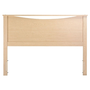 This Full / Queen size Headboard in Natural Maple Finish would be a great addition to your home. It is made of particleboard with a laminate finish construction and is non-toxic. Drill Holes for Frame; FSC Certified; EPP Compliant; CPSIA or CPSC, CARB Compliant; ISTA 3A Certified; General Conformity Certificate.