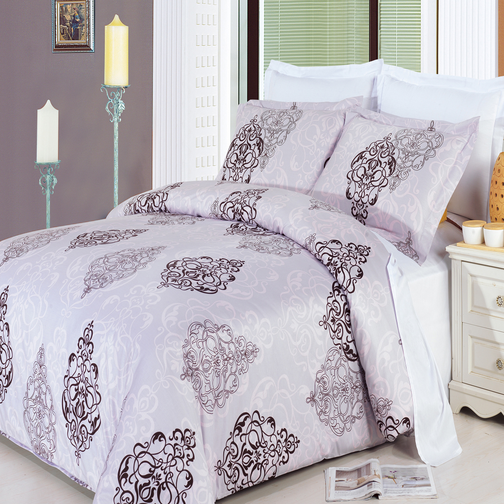 Gizelle Multi-Piece 100% Egyptian Cotton Duvet Set. 3-Piece Duvet Set. Enjoy the comfort and Softness of 100% Egyptian cotton bedding with 300 Thread count fiber reactive prints.*100% Egyptian cotton *300 Thread count *Reactive Print, lasts longer and looks like real live pictures.