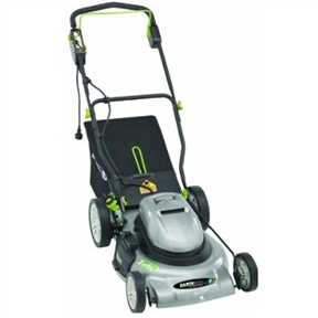 20-inch 12 Amp Mulching/Bagging Electric Lawn Mower, E5012ASDNBEKN :  This 20-inch 12 Amp Mulching/Bagging Electric Lawn Mower requires no gas, no oil, no fumes and starts every time. The 3 in 1 system has a side discharge, mulches or you can rear bag your clippings. A single lever height adjustment makes it easy to change the mowing height for a professionally cut lawn. The 20-Inch Earthwise cordless mower is the clean air choice. Comfort V Handle with Cushion Grip.