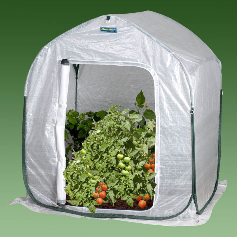 Plant-House Home Garden Cold Frame Style Greenhouse (3' x 3'), WFPH3FT41 :  The Plant-House design provides a convenient and effective way to protect your tender shrubs and perennials against damaging winter environments. The large zippered door allows for easy access while the large screened door allows for optimum ventilation and pest protection. Creates the perfect environment for hardening of plants. Set up, take down and store in seconds! All Flower-House greenhouses are constructed with the incredibly durable UV resistant, weatherproof Gro-Tec material featuring rip stop protection. Cold Frame Low Tunnel Style Mini-Greenhouse Design.  Compact and lightweight; Sets up easily on soil or hard surface; Comes with instruction manual and greenhouse guide; Shade cover, ground stakes, carry pack, and fiberpole included; Night time temperatures inside your Flowerhouse greenhouse will drop to outside temperatures without an additional heating source; 3 year limited warranty; Please Note: Warranty is not valid until the warranty card is filled out and returned within 14 days of purchase; Features: Built-in Vents, No Foundation Needed, Portable, Light Weight.