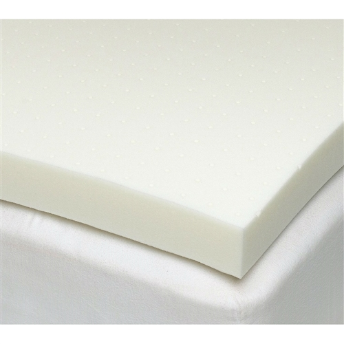 "Improve your overall comfort and sleep quality with this Twin size 3-inch Thick Ventilated Memory Foam Mattress Topper. This Memory Foam is the first breathable, open-cell memory foam that is enhanced with plant-based ingredients. This high-performance material provides luxurious, cradling comfort to relieve pressure points to ensure a better night's sleep. Breathability plus ventilation means more air flow under the covers to keep you cool and comfortable throughout the night. Open-cell memory foam offers superior durability that retains its shape over time and outlasts the competition. This is odor-neutral, eliminating the need to ""air-out"" before use. This adds a layer of comfort to any existing mattress for the feel of a brand new mattress at a fraction of the price. This topper is covered by a two-year limited warranty. Spot clean only, do not machine wash or dry."