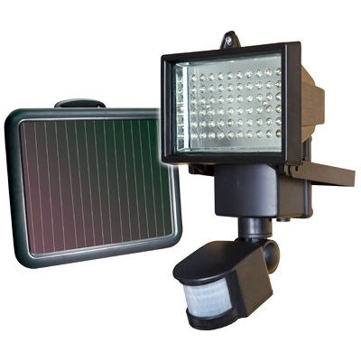 "Outdoor 60 LED Solar Motion Light - No Wiring Required, SLEDL36812 :  This Outdoor 60 LED Solar Motion Light - No Wiring Required would be a great addition to your home. 60 LED, Sunforce Solar Flood Light, Uses Power Of The Sun, Light Any Dark Area & Add Extra Security, Automatically Turns On When Motion Is Detected, Making It Ideal For Remote Locations, Garages, Pathways, Sheds, Security & Lighting Dark Areas, Amorphous Solar Panel Works In All Daylight Conditions, Even On Cloudy Days, Brighten Up Any Outdoor Space, Lumen Output: 850, Charges During The Day & Works At Night, Made With ABS Plastic & Aluminum For Added Durability, Weather Resistant & Can Be Mounted Almost Anywhere, No Main Power Or Wiring Required, Maintenance Free, Working Time: 30 Minutes, 72 Times, 1 Time Lighting 25 Seconds, 1W, 6V Amorphous Solar Panel 6.5"" x 7.5"", Includes 3 Rechargeable Replaceable Batteries, Includes Screws For Easy Mounting & 5 Meters Of Wire, For Replacement Battery Use Interstate #NICO262."