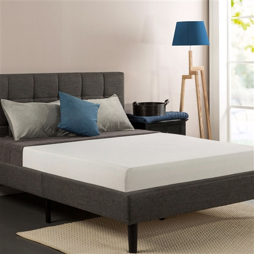 Rest easy with the memory foam support of this Queen size 8-inch Thick Memory Foam Mattress with Knitted Fabric Cover, pioneers in comfort innovation. The Sleep Master Memory Foam 8 Inch Mattress provides conforming comfort with a memory foam layer that molds to the natural shape of your body. The full support high-density foam base layer provides long lasting durability and stability. The Queen size 8-inch Thick Memory Foam Mattress with Knitted Fabric Cover provides the perfect balance of support and comfort to ensure that you get a refreshing night's sleep. Please open your mattress package within 72 hours of receipt and allow 48 hours for your new mattress to return to its original, plush shape. Worry free 10 year limited warranty.