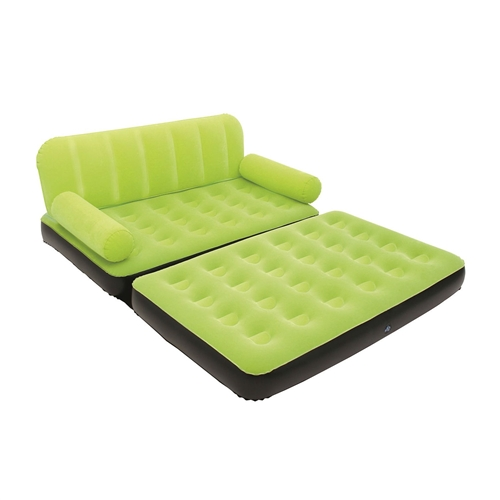 Green Inflatable Indoor/Outdoor Muti Purpose Sofa Couch Bed Lounge w/ Air Pump. Perfect anywhere and super fast to set up.