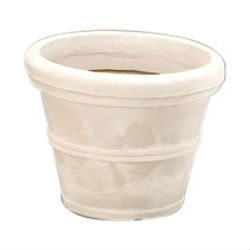 12-inch Diameter Round Planter in Weathered Stone Finish Poly Resin, SHV12895485 :  Get the look of classic terra cotta pots without the mess and heartbreak that comes when you break one. This 12-inch Diameter Round Planter in Weathered Stone Finish Poly Resin constructed of durable poly resin plastic that is extremely sturdy and lightweight. They won't fade, crack, split, or warp and have a thick rim and classic shape perfect for nearly any plant or small tree. Designed to work for indoor or outdoor plants, these planters are available in your choice of size and color options and even come complete with pre-drilled drainage holes.