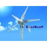 500-Watt 12-Volt 5-Blade Home Wind Generator Kit, WM50012VWGK :  Our high performance, reliable 500-Watt 12-Volt 5-Blade Home Wind Generator Kit features advanced electromagnetic over speed control, aerodynamic blade speed limitation, solar/wind dual output capability, reliable light weight generator design using die-casting technique and high performance rare earth neodymium magnets, advanced airfoil designed blades made of mixed nylon and reinforced fiber glass using injection molding and thermoplastic technologies for consistency, high strength. HYenergy Windmax Wind Turbines are the one of the most well built, reliable, most efficient and cost-effective small wind turbines available on the market today. The HYenergy Wind turbine system is the perfect choice in a smart investment for a renewable energy solution built on advanced technologies. The HYenergy wind turbine system defines a new level of superior performance and reliability in the small wind turbine industry. Brushless, strong Neodymium magnet PMA, unique winding and multi pole design reduce the start-up torque of the alternator to assure the HYenergy wind turbine have great performance at low wind speed. Designed with both reliability and performance in mind, HYenergy Wind Turbines feature maintenance free design, high reliability and consistent performance. The result: greater energy production yield for all wind speeds and lowest ownership cost. A small home wind turbine is a long term investment. Windmax H series wind turbines lead the small wind turbine industry by eliminating problematic mechanical furling over speed control which requires a lot of maintenance and causes wind turbine failure. Windmax H series wind turbine improves the reliability and performance by advanced electromagnetic speed limitation supplemented by aerodynamic speed limitation by blade deformation. Electromagnetic braking is used in combination with Aerodynamic braking to reduce the rotational speed of the generator in high