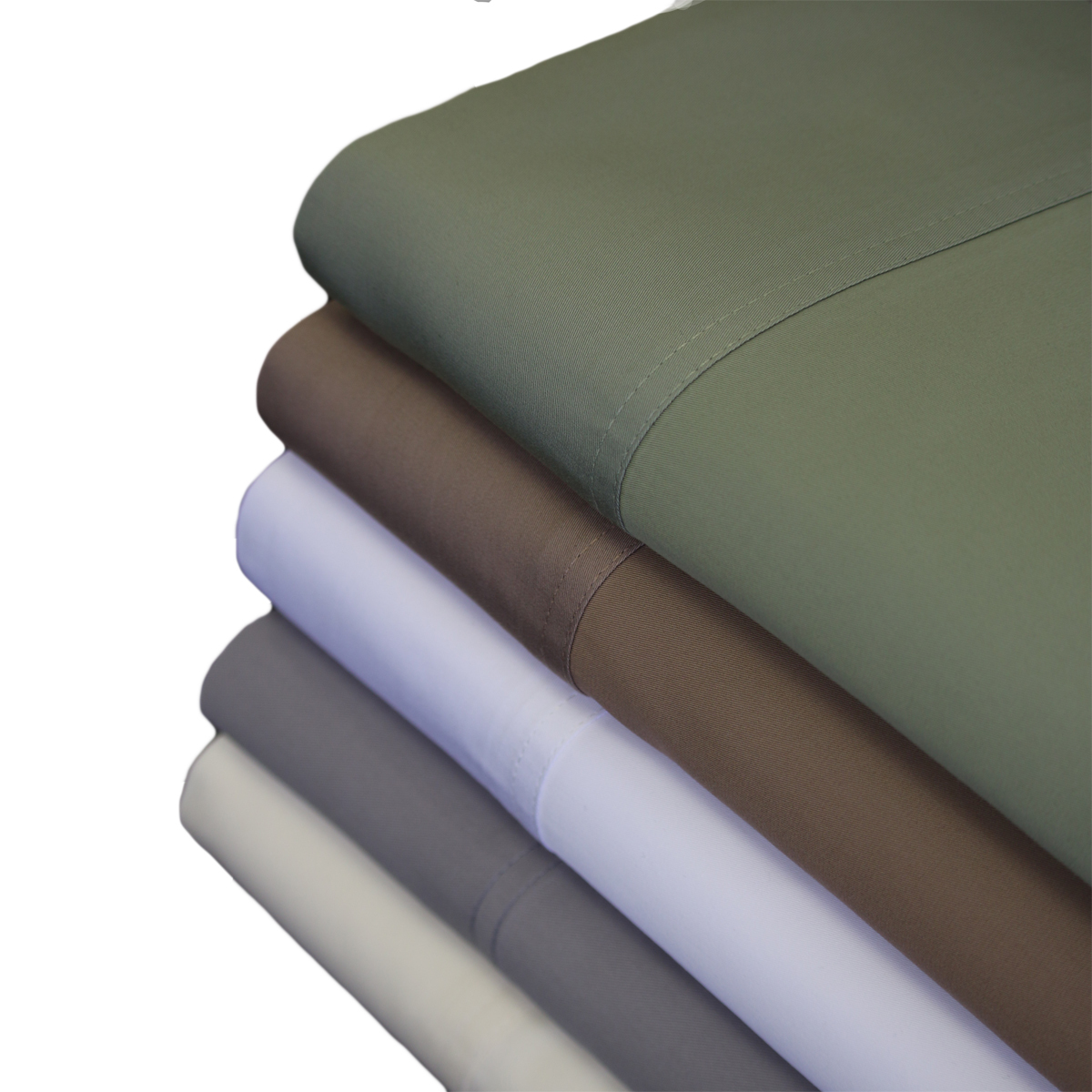 Abripedic, 600 Thread Count 100% Bamboo Viscose Sheet Set Collection by Abripedic. Are you comfort conscious? These 100% Bamboo viscose 600 Thread Count Sheet Set is an impeccable choice. These 100% bamboo viscose sheets are acknowledged for their natural softness, durability, and breathability. These sheets are cool and welcoming every night of the week. Experience our superior bamboo viscose sheets for yourself, and see what we mean. They come in 5 soft and soothing colors and make every bed in your home a bamboo viscose one. Machine wash in cold water.Delicate cycle with mild detergent. No Bleach. Tumble Dry on low heat. Remove immediately at end of cycle. Press with warm iron if needed. Do not use hot water.