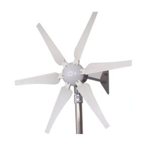 400-Watt 12-Volt 6-Blade Wind Generator with Charge Controller, GC400W12V6B :  This 400-Watt 12-Volt 6-Blade Wind Generator with Charge Controller is a low wind speed, small-size wind generator with starting speed just 5mph or more. Comes with wind charge controller, instruction manual and 1-year warranty from the purchase date.