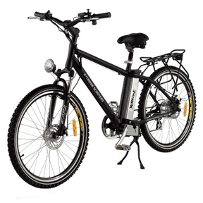 "X-Teme Scooters Mens XB-300Li Lithium Ion Electric, XB-300LI :   Start on your way to savings! The X-Treme Men's XB-300Li Electric Bicycle is a fantastic entry-level electric bicycle. It's powered by lightweight, state of the art, lithium ion batteries and propelled by a 300W hub motor. You can simply pedal without power, move by electric power only, or travel by pedaling with a power assist on demand. When you need an extra boost, the 300W electric motor comes in handy on straight aways, small hills, and light terrain. The XB-300Li electric bike comes equipped with superb components like a 7-speed Shimano Tourney gear and shifter system, 7 lightweight lithium ion batteries, and RST Capa T7 front hydraulic shocks for a smooth ride on or off-road. The electric bicycle classification allows you to operate it without registration, insurance or a driver's license in most states (please contact the DMV in your area and check local laws before purchase). The XB-300Li electric mountain bike is environmentally friendly, noise-free, and only costs pennies a day to charge. It's a fantastic way to bypass high prices at the pump. It has a fully adjustable seat, front light, key ignition, battery indicator, horn, bell, rear cargo rack, tool kit, and a smart charger. Note - it's up to you to check with your local DMV prior to ordering to be sure of the requirements in your state for electric bicycles. Variable speed twist throttle; 1-3 Hours of charge time; Front and rear disk brakes; 26"" Pneumatic off-road tires; Aluminum wheels; Headlight; Rear reflectors; Spoke reflectors; Kickstand; Tool kit"