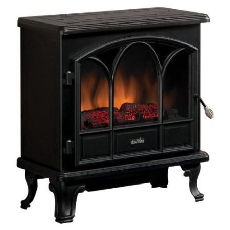 1500-Watts Large Stove Style Electric Fireplace Space Heater, DLSHB14176 :  This 1500-Watts Large Stove Style Electric Fireplace Space Heater has a metal construction. Also, it has electronic controls with a remote. 1500-Watts/4600 btus per hour; Supplemental heat for up to 400 sq. ft.