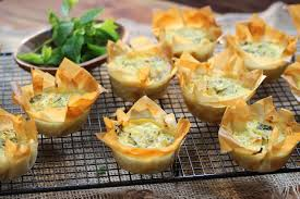 Roasted Zucchini and Goat Cheese Tartlette, 30 count