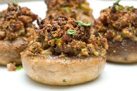 Stuffed Mushrooms Done Two Ways, 24 count