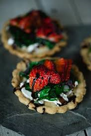 Strawberry Basil Goat Cheese Tartlette, 24 count