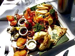 Seafood Ambrosia Platter