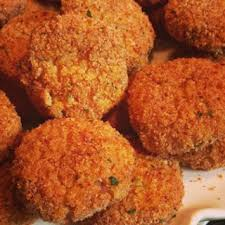 Mushroom Risotto Cakes with Truffle Oil, 24 count