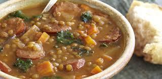 Turkey Sausage, Kale, and Sweet Potato Soup