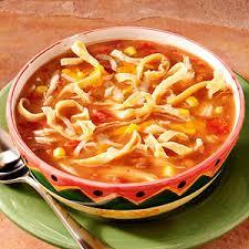 Southwestern Style Chicken Tortilla Soup