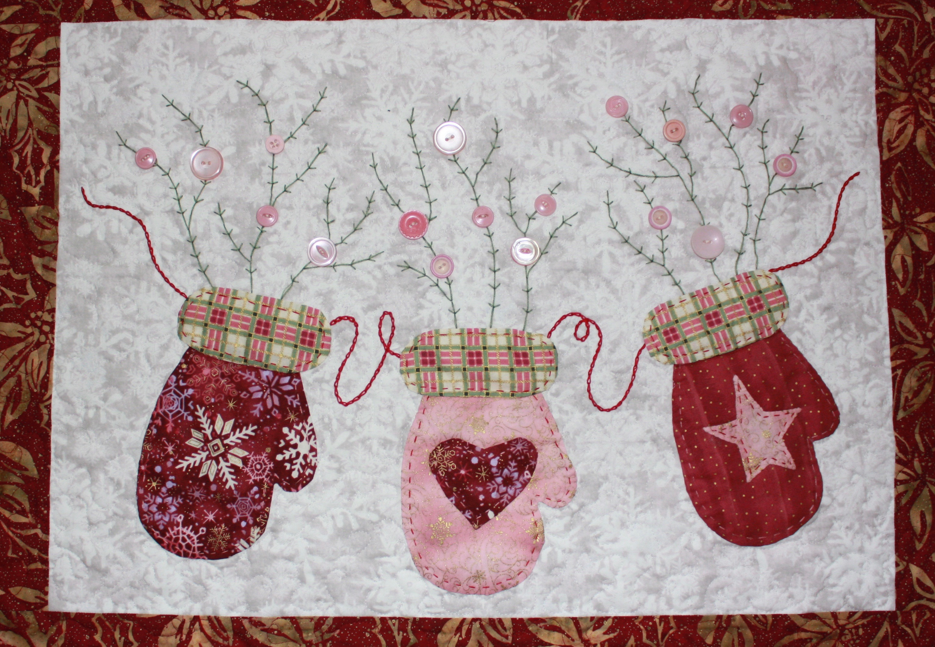 """Marley's Mittens"" by Trinity Quilt Designs"