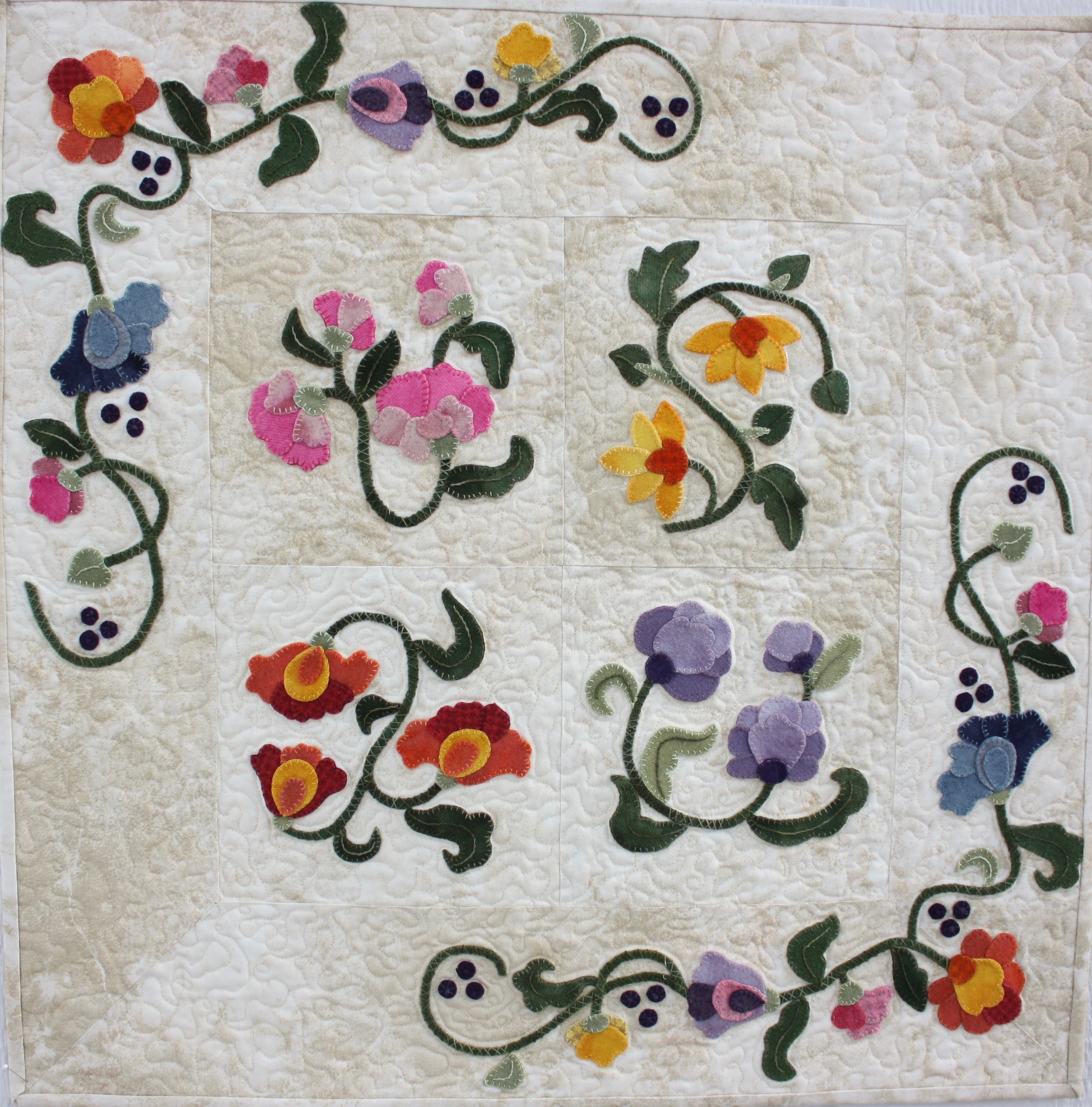 Sylvia's Spring Fling by Trinity Quilt Designs