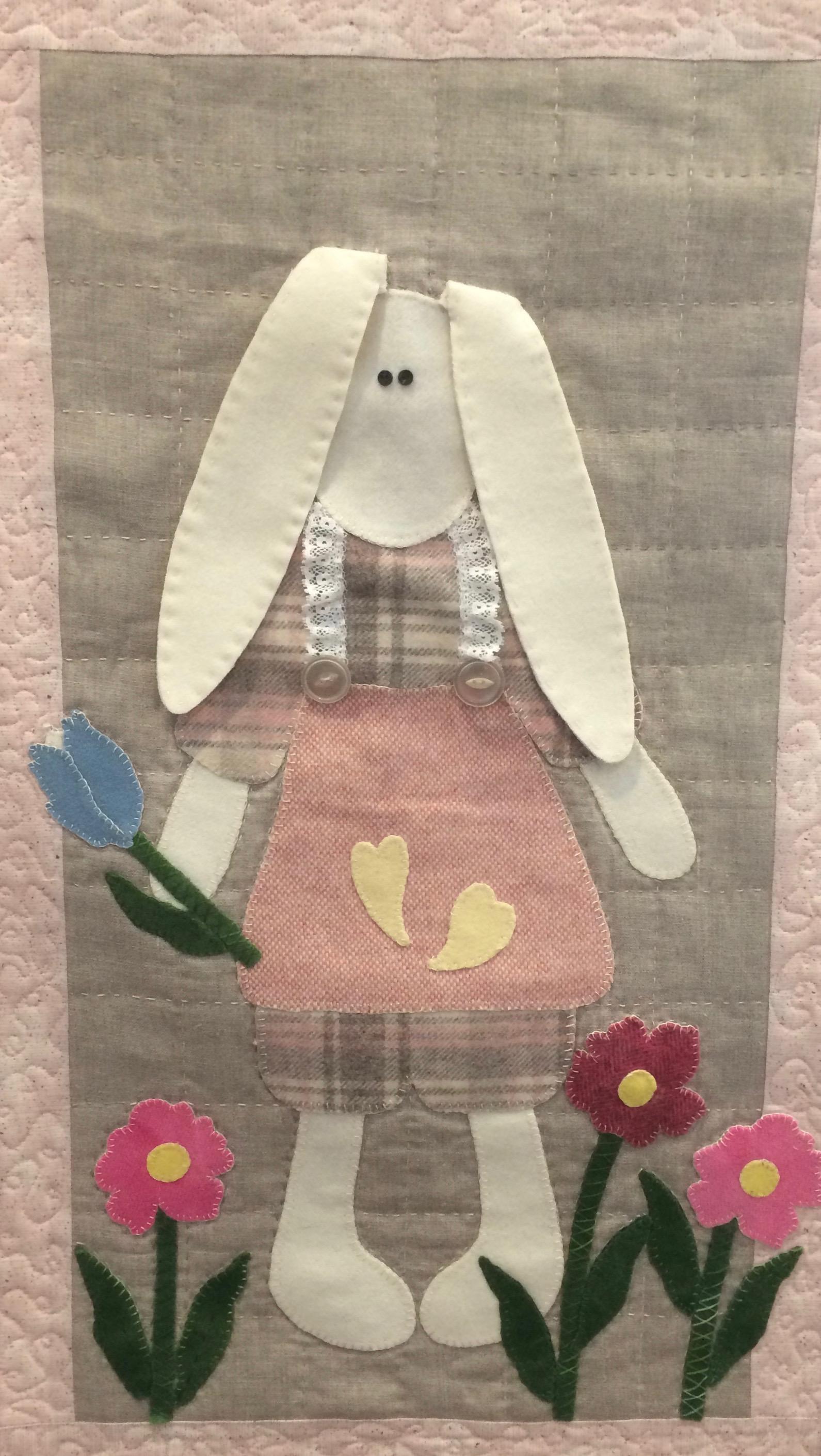Rabbit in Pink
