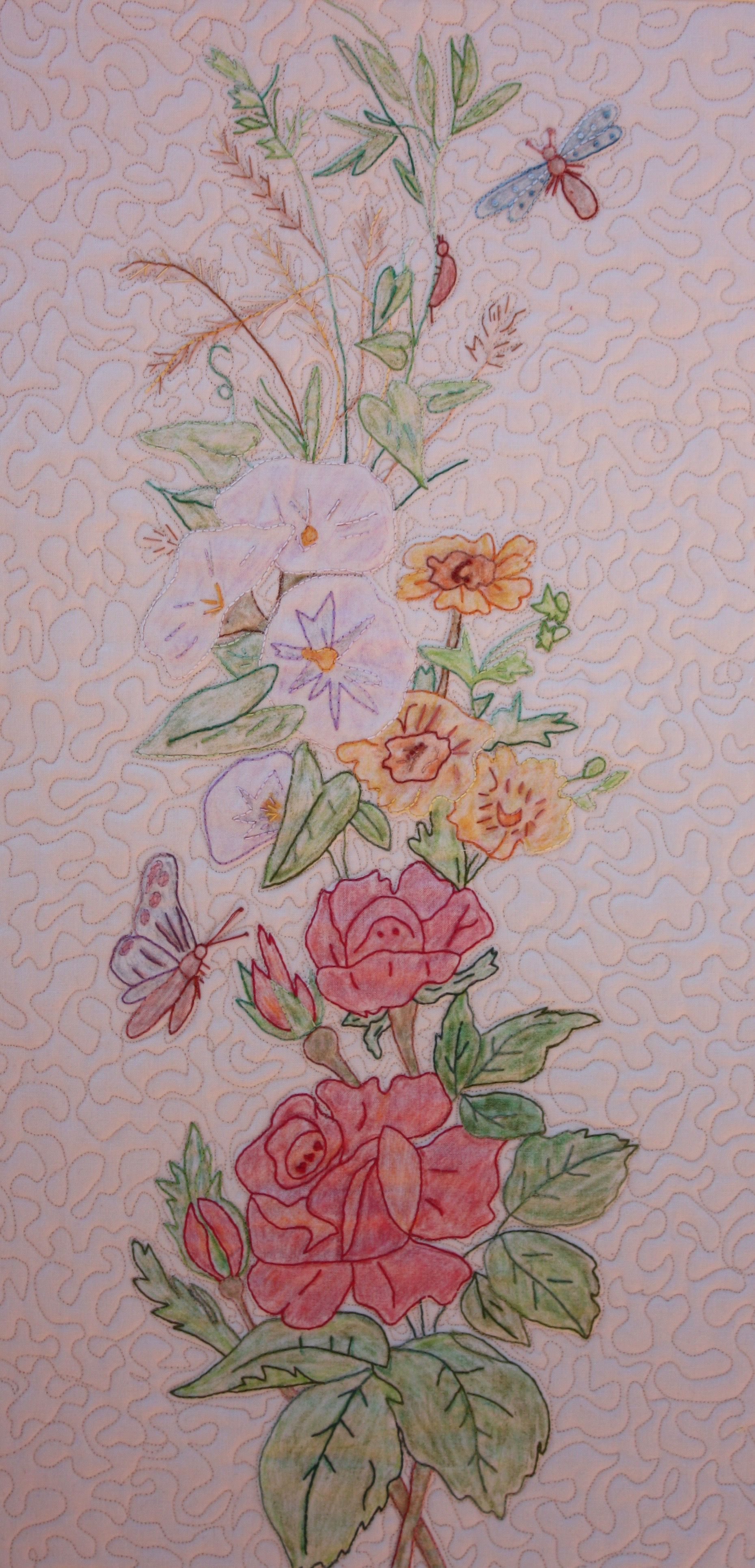 """Nancy's Spring Bouquet"" by Trinity Quilt Designs"