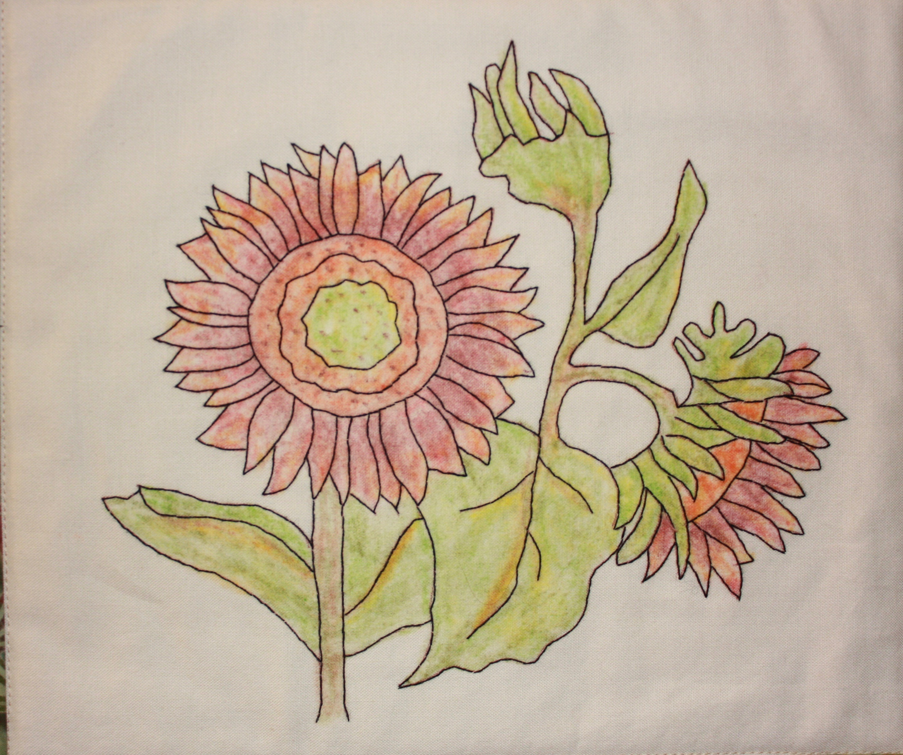 Rick's Sunflowers by Trinity Designs