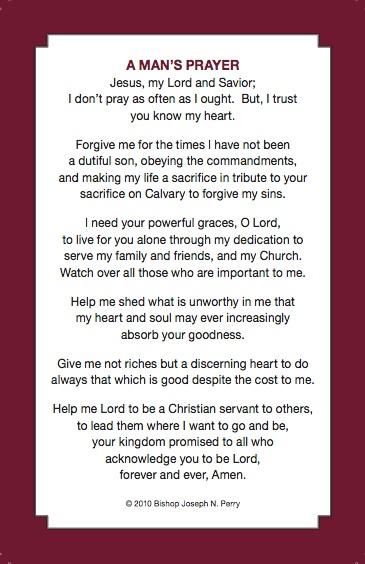 By Reverend Bishop Joseph N Perry