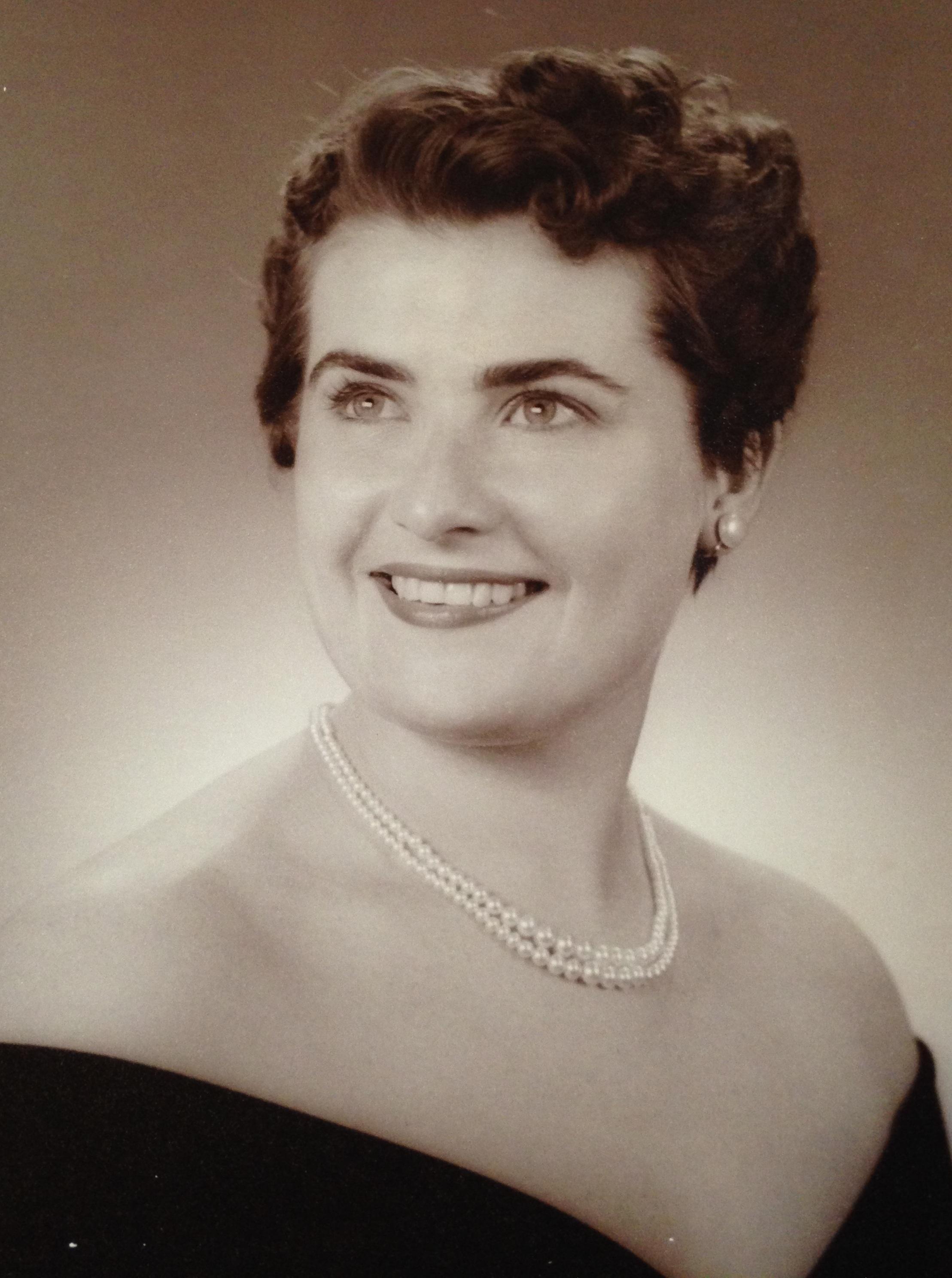 My Mother, Carol White 1957