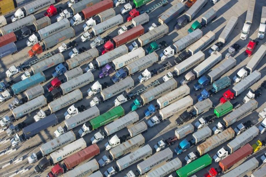 LA port Congestion