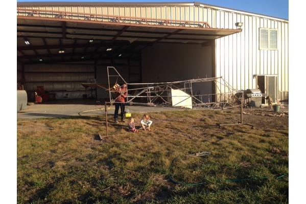 Rans S-7 STOL Creek Rebuild