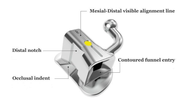2nd Molar Single Buccal Tubes - .022