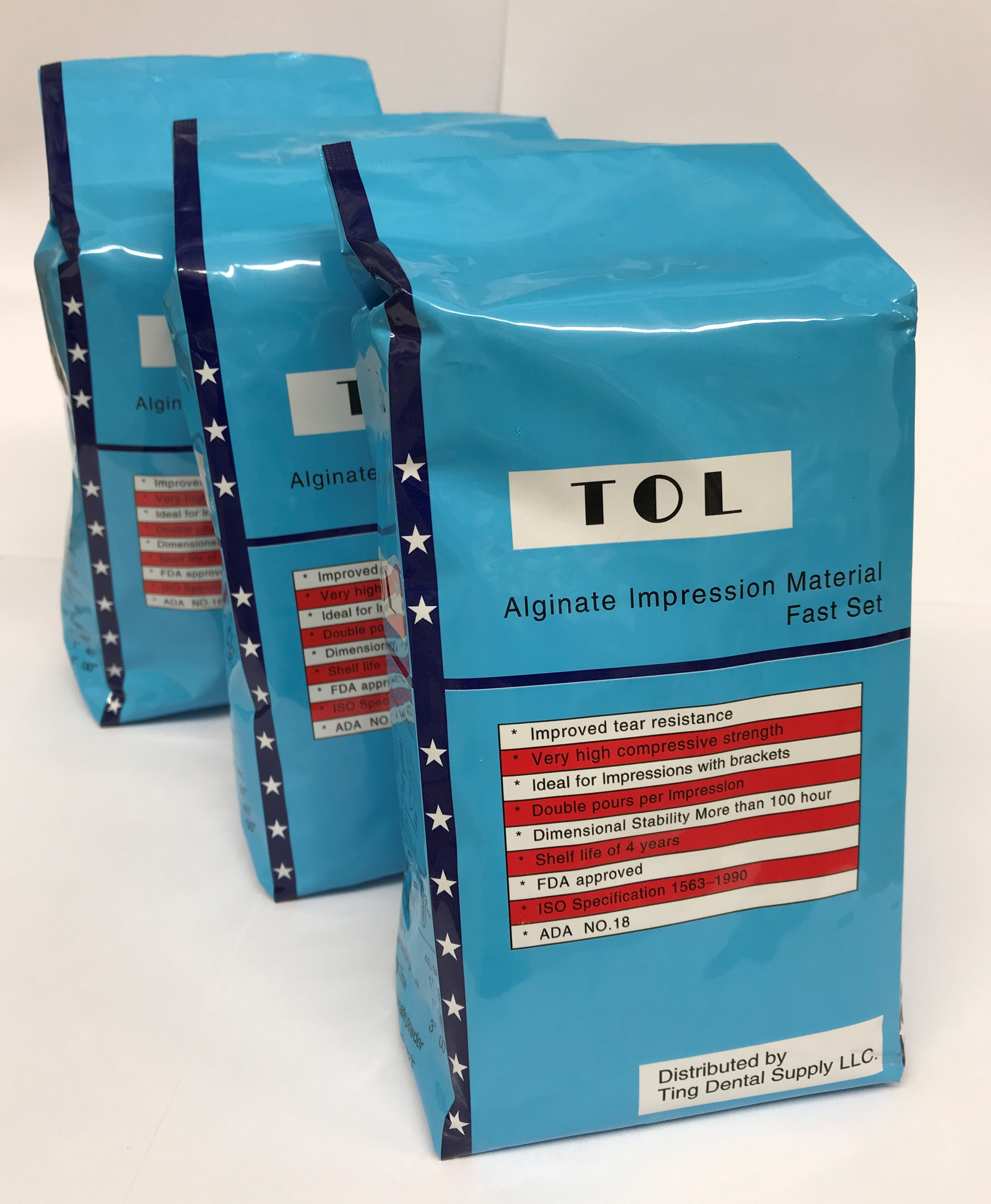 TOL FAST SET ADA NO.18 ALGINATE