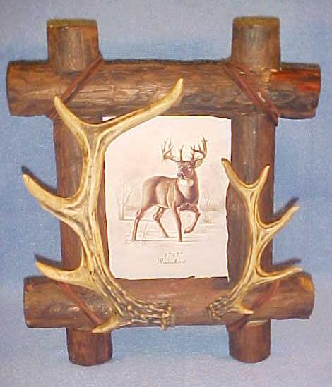 5x7 Antlers / Deer Picture Frame
