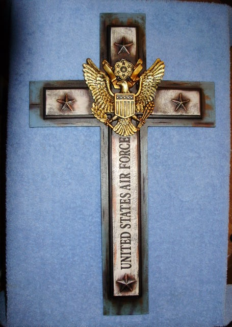 United States Air Force Wall Hanging Cross