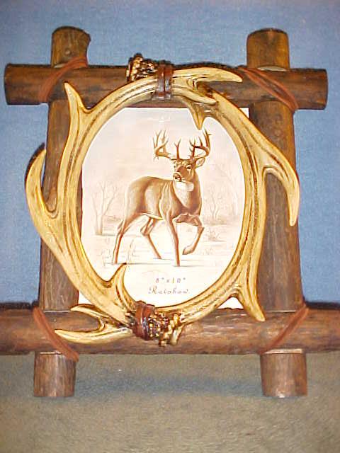 8x10 Antlers / Deer Picture Frame