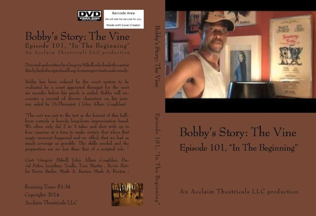 Pilot - (DVD) HD: Bobby's Story: The Vine