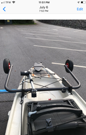 Automatic Kayak Dolly