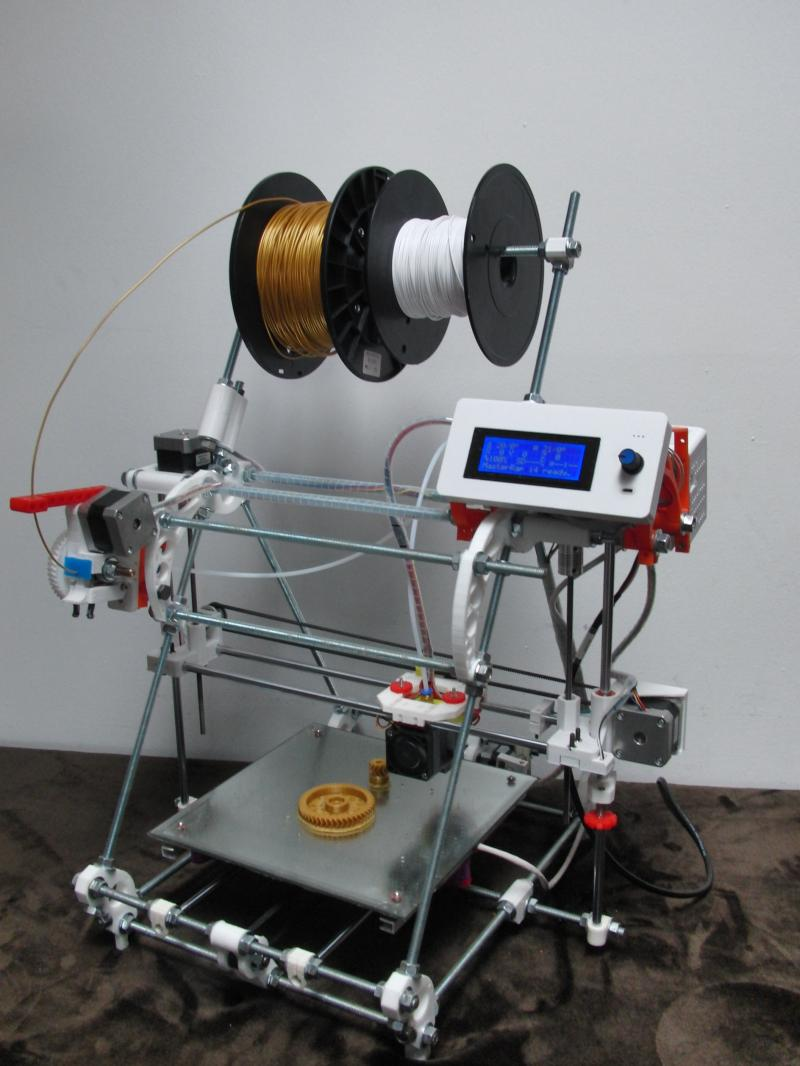 MasterRap i4 3D Printer DIY kit for School w On site Assistant and Training