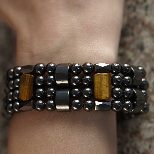 Tiger Eye Spacer - 6mm Quad