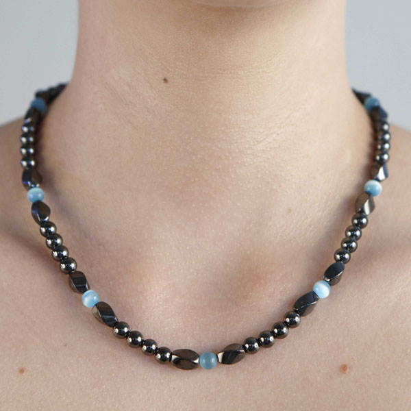 Twist Turquoise Necklace or Choker